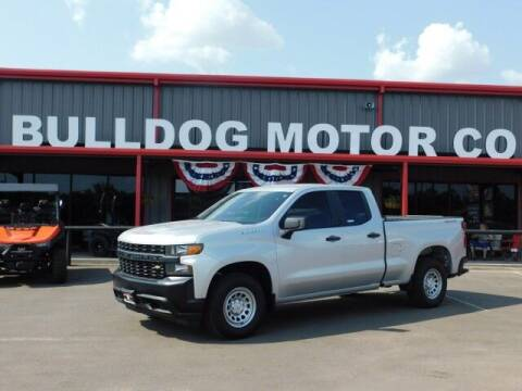 2019 Chevrolet Silverado 1500 for sale at Bulldog Motor Company in Borger TX