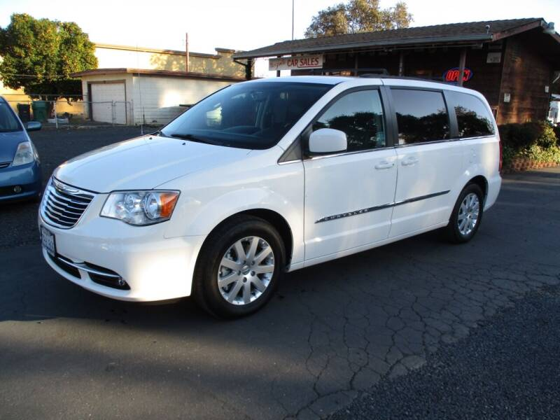 2013 Chrysler Town and Country for sale at Manzanita Car Sales in Gridley CA