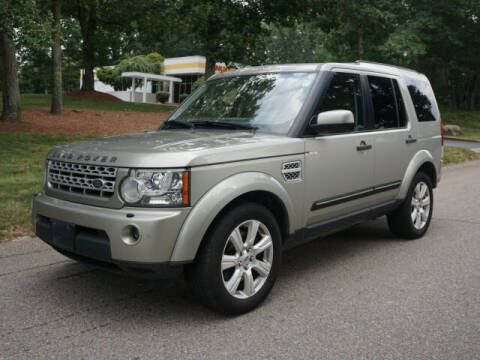 2013 Land Rover LR4 for sale at CLASSIC AUTO SALES in Holliston MA