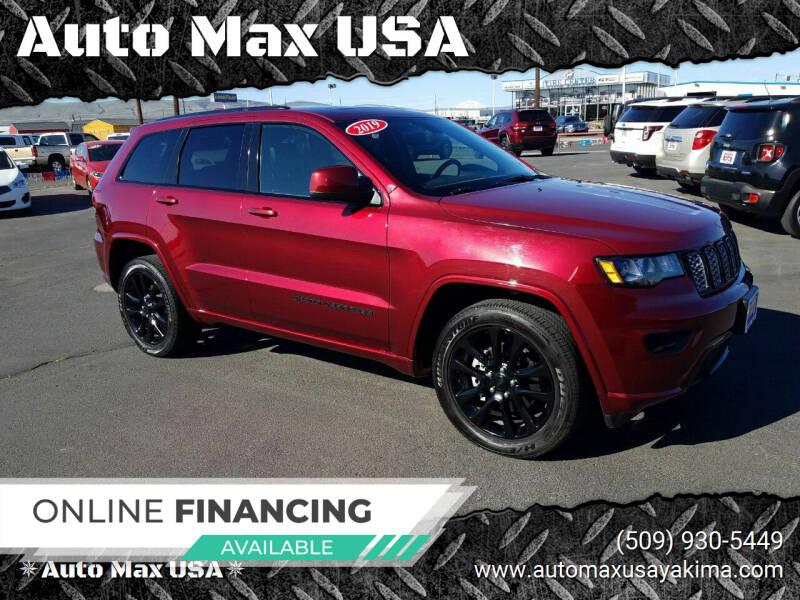 2019 Jeep Grand Cherokee for sale at Auto Max USA in Yakima WA