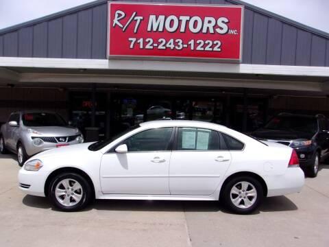 2012 Chevrolet Impala for sale at RT Motors Inc in Atlantic IA