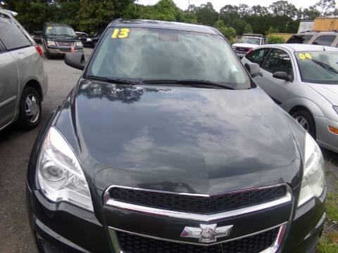 2013 Chevrolet Equinox for sale at Alabama Auto Sales in Semmes AL