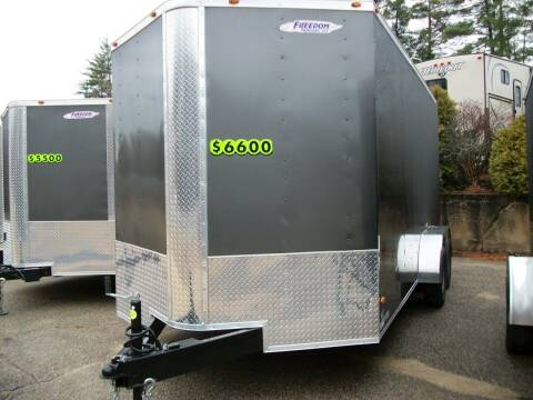 2021 Freedom 7X16 TA for sale at Olde Bay RV in Rochester NH