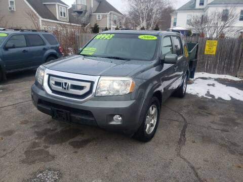 2009 Honda Pilot for sale at TC Auto Repair and Sales Inc in Abington MA