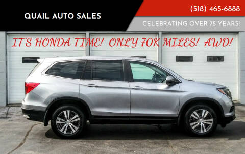 2016 Honda Pilot for sale at Quail Auto Sales in Albany NY
