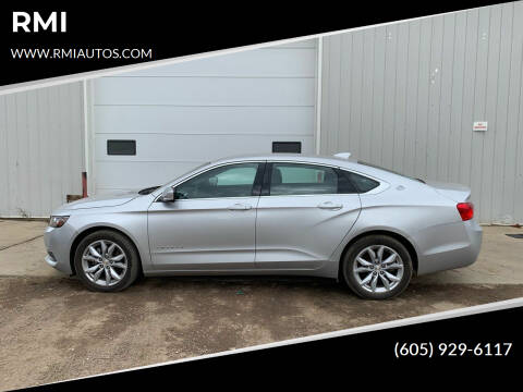 2017 Chevrolet Impala for sale at RMI in Chancellor SD