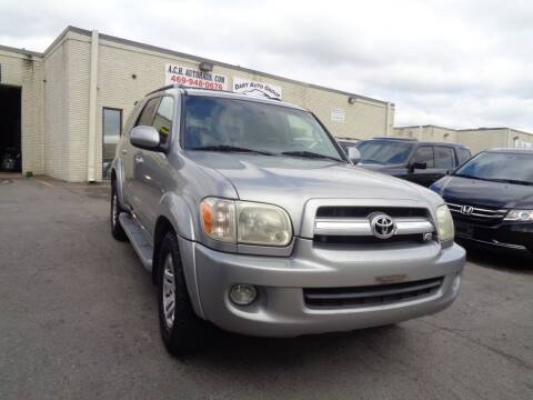 2005 Toyota Sequoia for sale at ACH AutoHaus in Dallas TX