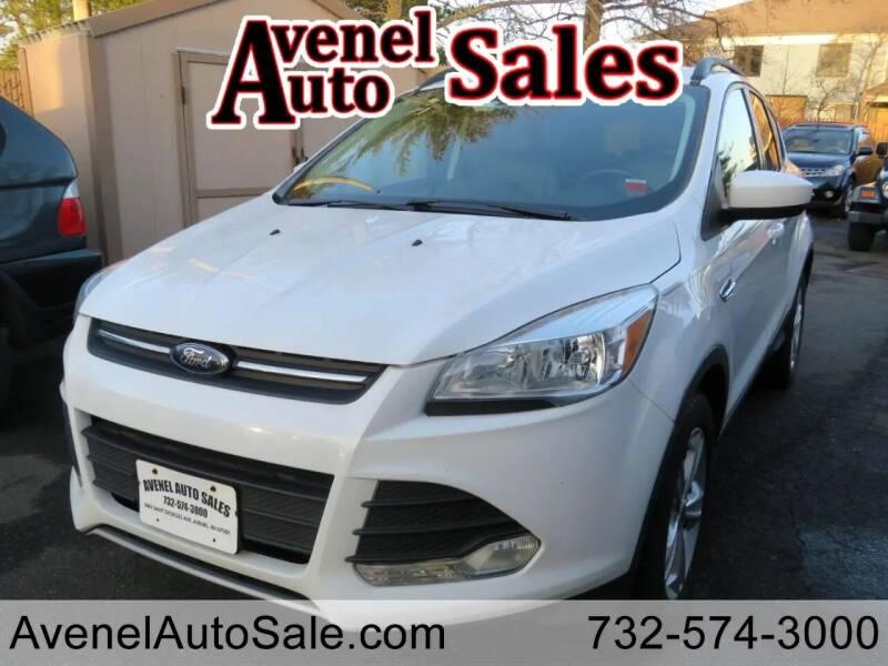 2016 Ford Escape for sale at Avenel Auto Sales in Avenel NJ