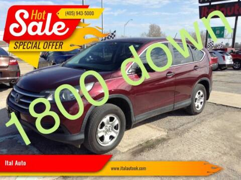 2013 Honda CR-V for sale at Ital Auto in Oklahoma City OK