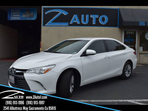 2016 Toyota Camry for sale at Z Auto in Sacramento CA