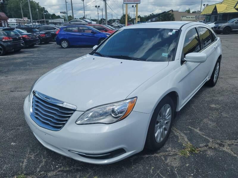 2014 Chrysler 200 for sale at Castle Used Cars in Jacksonville FL