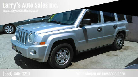 2009 Jeep Patriot for sale at Larry's Auto Sales Inc. in Fresno CA