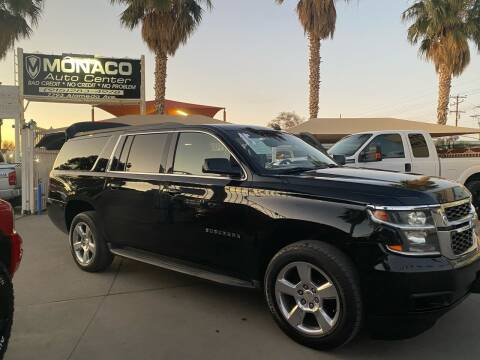 2015 Chevrolet Suburban for sale at Monaco Auto Center LLC in El Paso TX