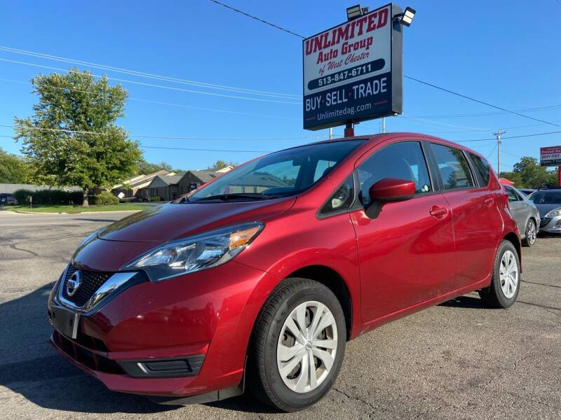 2017 Nissan Versa Note for sale at Unlimited Auto Group in West Chester OH