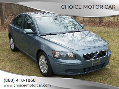 2005 Volvo S40 for sale at Choice Motor Car in Plainville CT