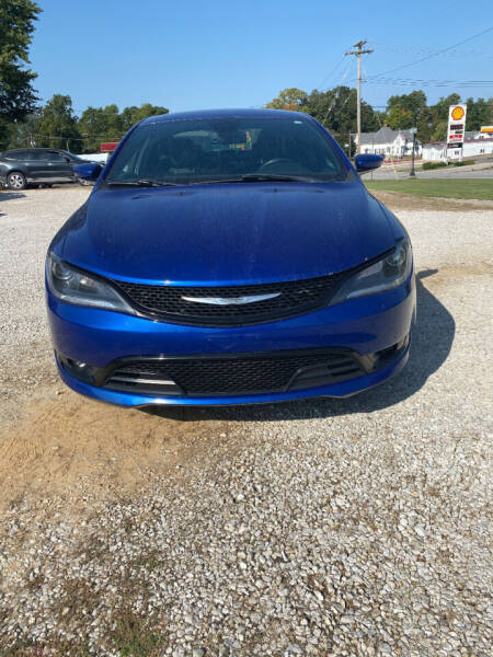 2015 Chrysler 200 for sale at J2 WHEELS UNLIMITED in Griggsville IL