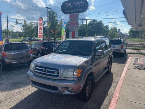 2004 Toyota Sequoia for sale at i3Motors in Baltimore MD