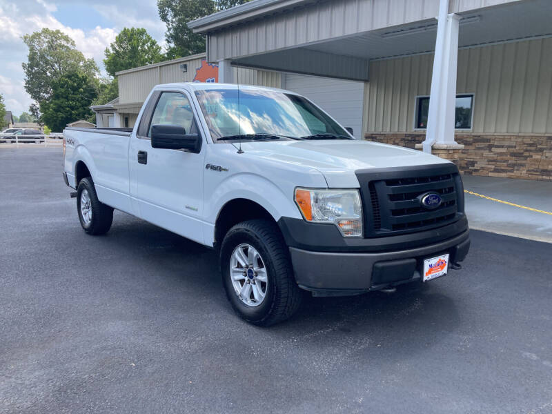 2012 Ford F-150 for sale at McCully's Automotive - Trucks & SUV's in Benton KY