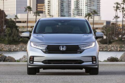 2021 Honda Odyssey for sale at Diamante Leasing in Brooklyn NY