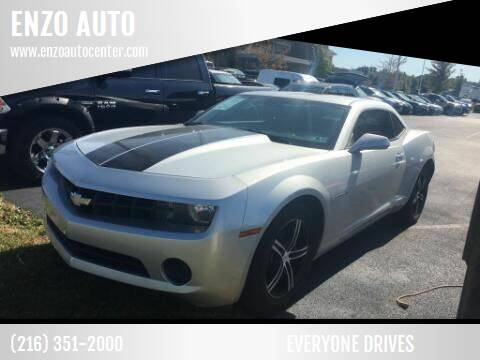 2010 Chevrolet Camaro for sale at ENZO AUTO in Parma OH