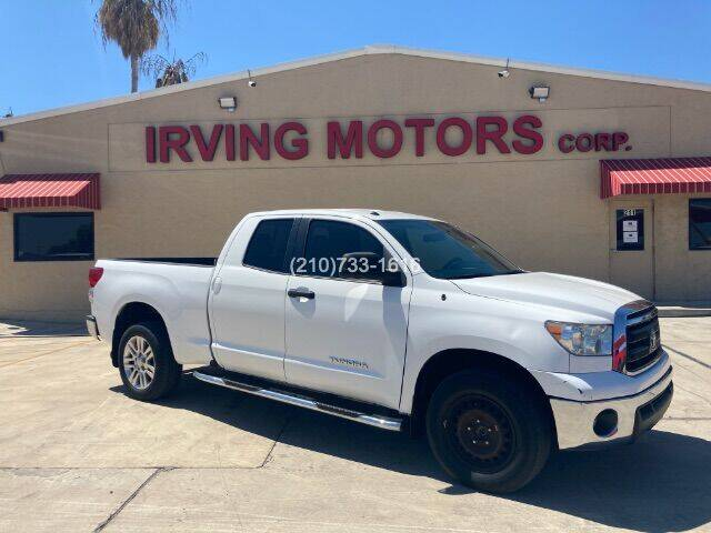 2013 Toyota Tundra for sale at Irving Motors Corp in San Antonio TX
