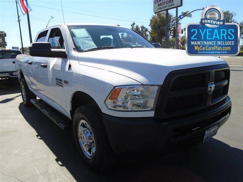 2014 RAM Ram Pickup 2500 for sale at Centre City Motors in Escondido CA