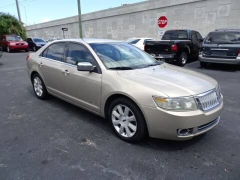 2008 Lincoln MKZ for sale at DONNY MILLS AUTO SALES in Largo FL