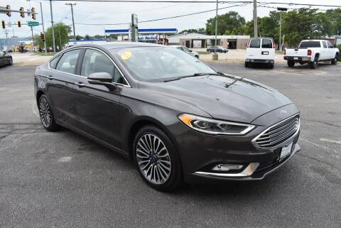 2017 Ford Fusion for sale at World Class Motors in Rockford IL