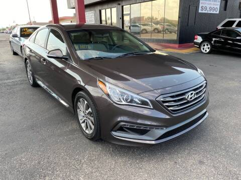 2015 Hyundai Sonata for sale at JQ Motorsports in Tucson AZ