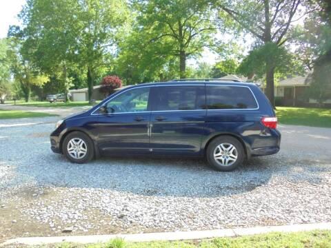 2007 Honda Odyssey for sale at D & P Sales LLC in Wichita KS