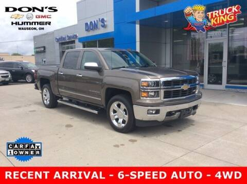 2014 Chevrolet Silverado 1500 for sale at DON'S CHEVY, BUICK-GMC & CADILLAC in Wauseon OH