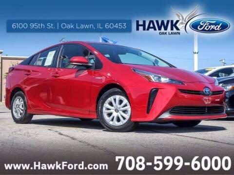 2020 Toyota Prius for sale at Hawk Ford of Oak Lawn in Oak Lawn IL
