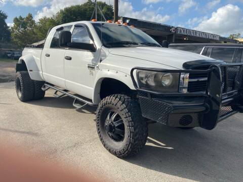 2007 Dodge Ram Pickup 3500 for sale at Texas Luxury Auto in Houston TX
