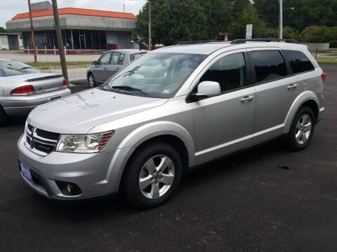 2012 Dodge Journey for sale at Premier Auto Sales Inc. in Newport News VA
