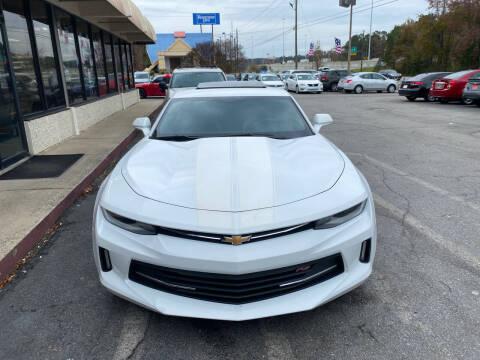 2016 Chevrolet Camaro for sale at J Franklin Auto Sales in Macon GA