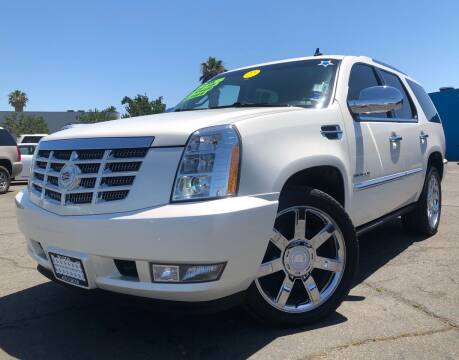 2012 Cadillac Escalade for sale at LUGO AUTO GROUP in Sacramento CA