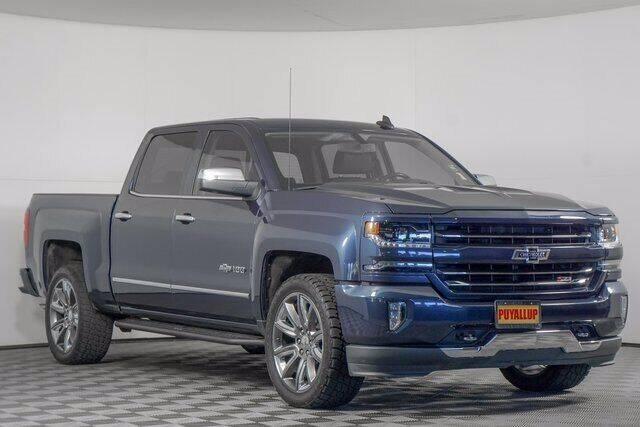 2018 Chevrolet Silverado 1500 for sale at Washington Auto Credit in Puyallup WA