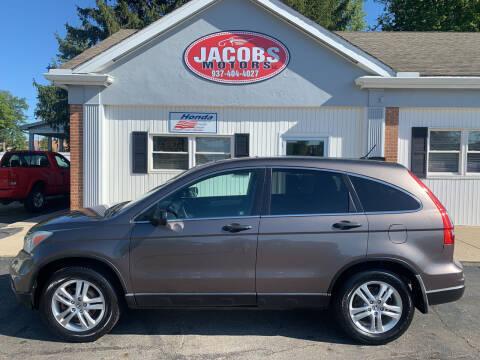 2010 Honda CR-V for sale at Jacobs Motors LLC in Bellefontaine OH