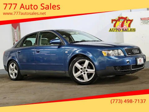 2004 Audi A4 for sale at 777 Auto Sales in Bedford Park IL