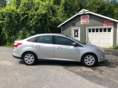 2012 Ford Focus for sale at KMK Motors in Latham NY