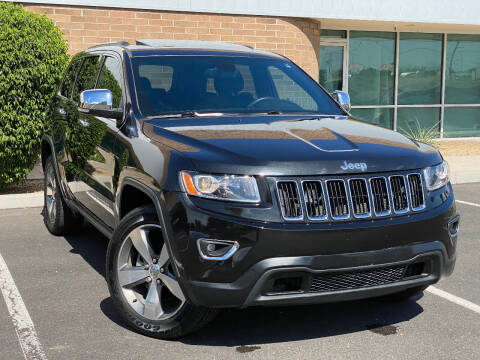 2016 Jeep Grand Cherokee for sale at AKOI Motors in Tempe AZ
