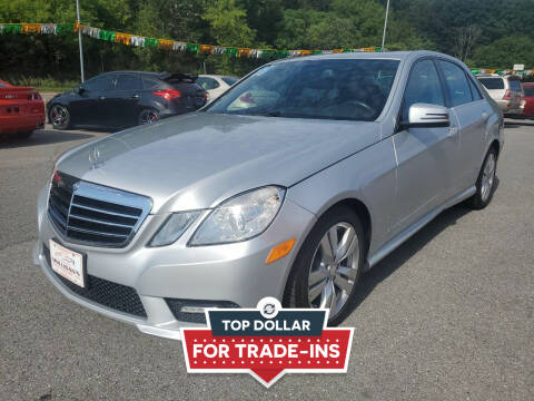 2011 Mercedes-Benz E-Class for sale at Mulligan's Auto Exchange LLC in Paxinos PA