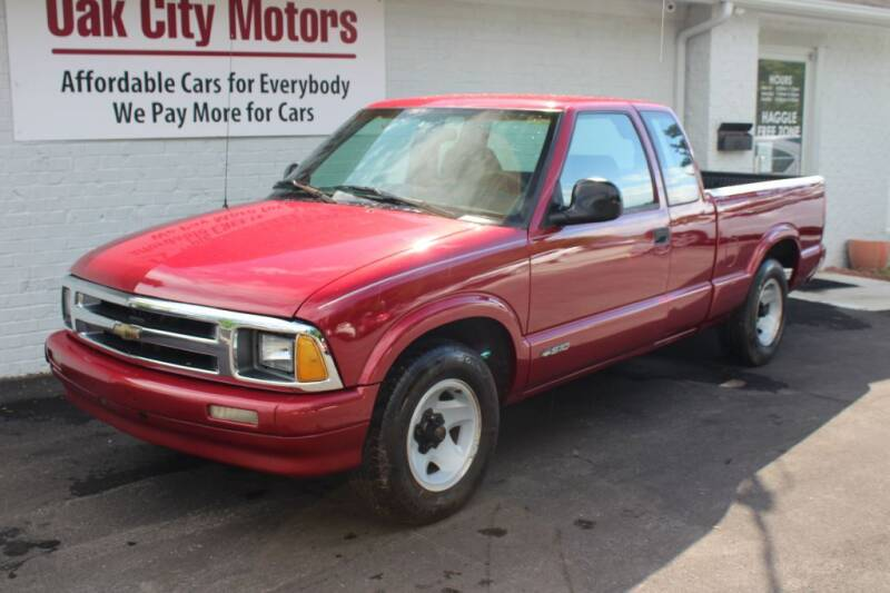 1997 Chevrolet S-10 for sale at Oak City Motors in Garner NC