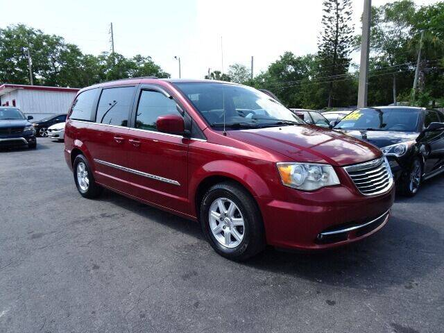 2012 Chrysler Town and Country for sale at DONNY MILLS AUTO SALES in Largo FL
