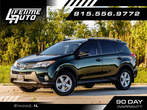 2013 Toyota RAV4 for sale at Lifetime Auto in Elwood IL