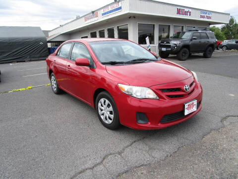 2011 Toyota Corolla for sale at Miller's Economy Auto in Redmond OR