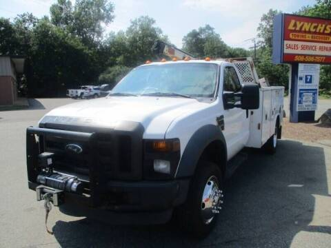 2010 Ford F-450 for sale at Lynch's Auto - Cycle - Truck Center in Brockton MA