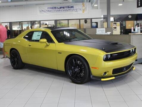 2021 Dodge Challenger for sale at DEUR-SPEET MOTORS in Fremont MI
