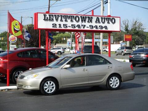 2003 Toyota Camry for sale at Levittown Auto in Levittown PA