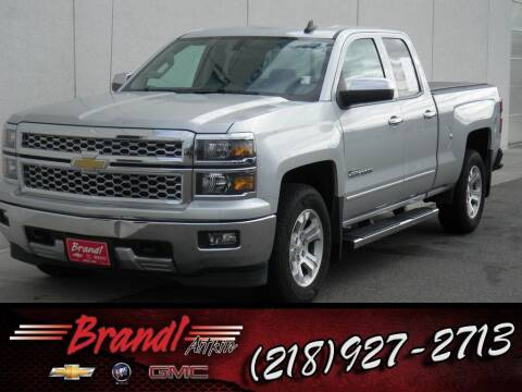 2015 Chevrolet Silverado 1500 for sale at Brandl GM in Aitkin MN